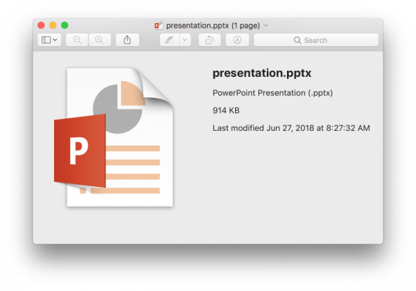 Чем открыть файлы PPTX