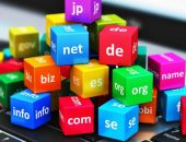 Кубики с названиями доменных зон