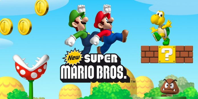 Super Mario игра
