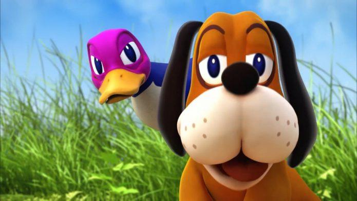 Скриншот из игры Duck Hunt