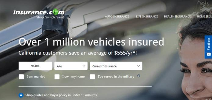 Домен Insurance.com