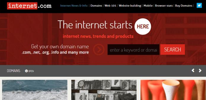 Домен Internet.com