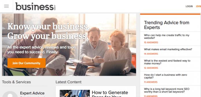 Домен Business.com