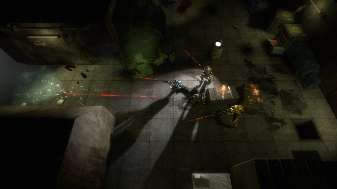 Кадр из игры «Alien Swarm»