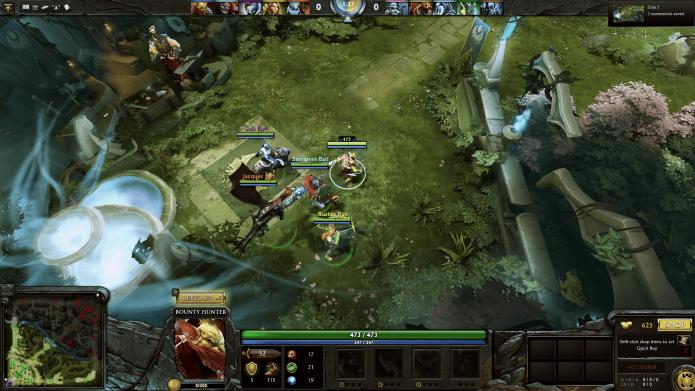 Кадр из игры «Dota 2»