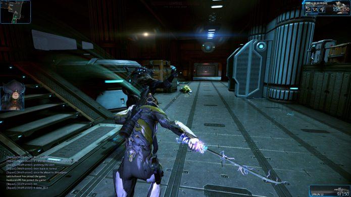 Кадр из игры «Warframe»
