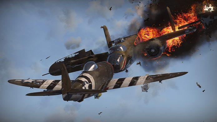 Кадр из игры «War Thunder»