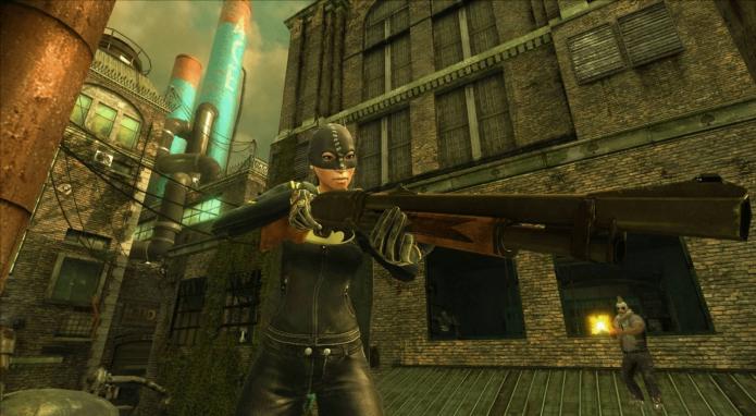 Кадр из игры «Gotham City Impostors»