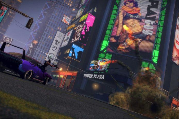 Кадр из игры «APB Reloaded»
