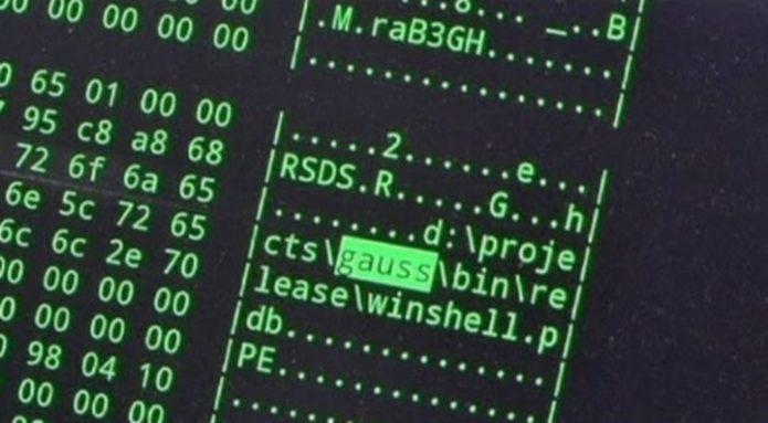 Компьютерный вирус Gauss
