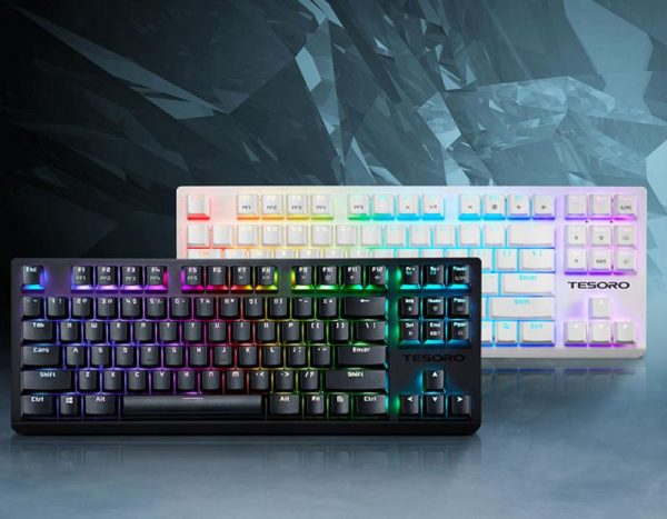 Представлена компактная механическая клавиатура Tesoro GRAM Spectrum TKL
