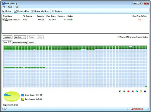 Программа Disk Speedup