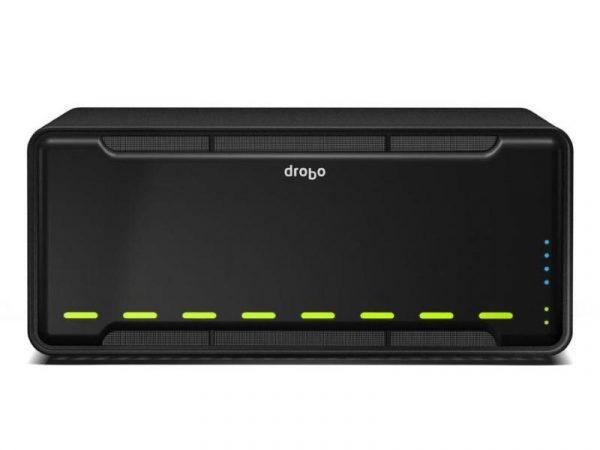 Внешнее хранилище Drobo 8D вмещает до 112 ТБ данных