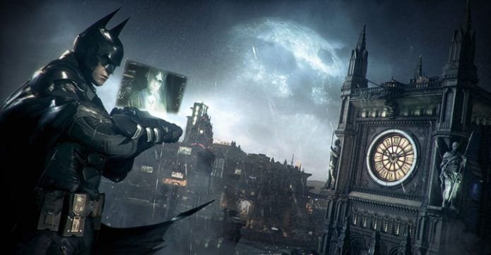 Кадр из игры Batman: Arkham Knight