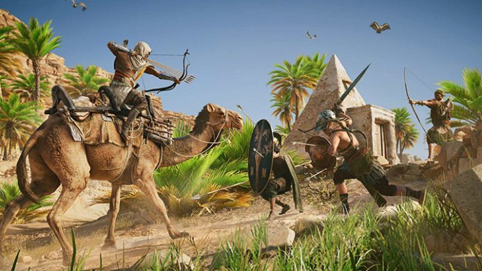 Кадр из игры Assasin's Creed. Origins