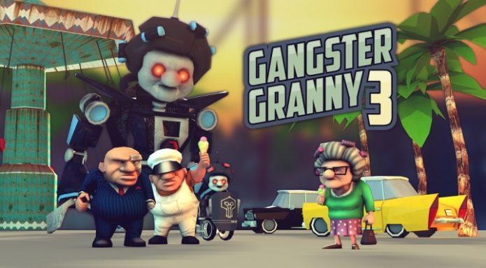 Кадр из игры Gangster Granny 3