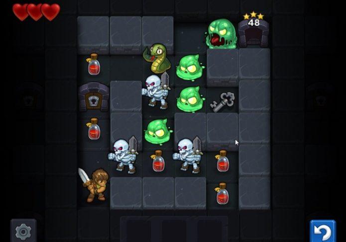 Кадр из игры Maze Lord