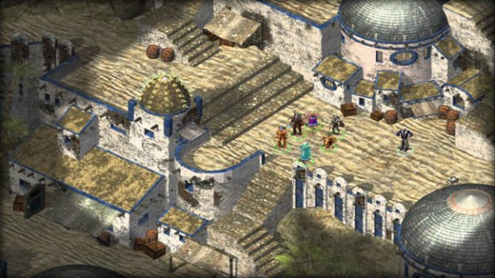 Кадр из игры Baldur's Gate