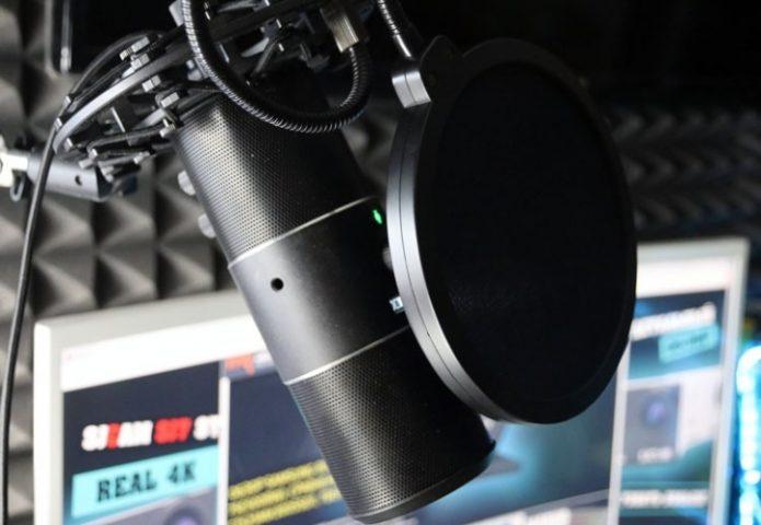 Микрофон с фильтром