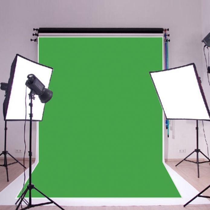 Хромакей, отражатели и камера