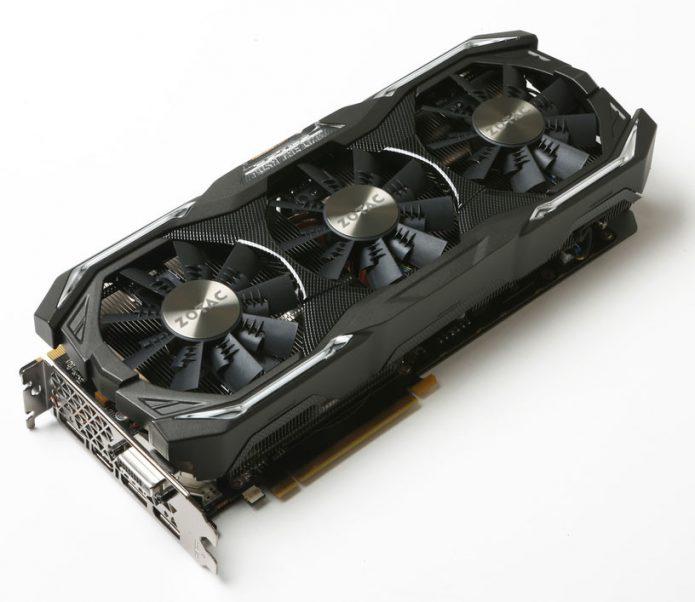 Zotac GeForce GTX 1070 AMP Extreme Core GDDR5X