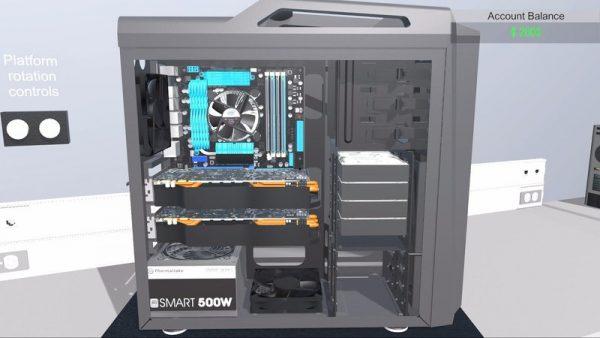 Симулятор сборки персонального компьютера готовится к релизу