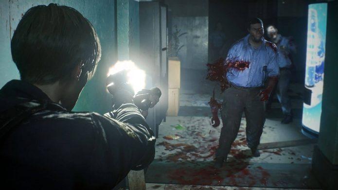 Скриншот игры Resident Evil 2