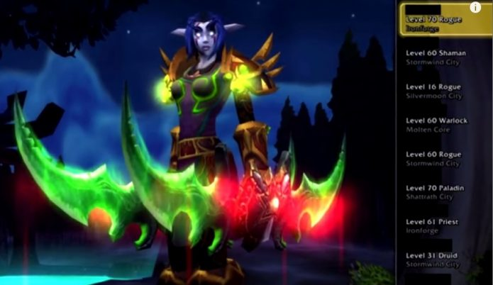 Zeuzo из World of Warcraft