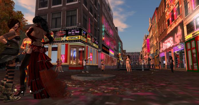 Amsterdam из Second Life