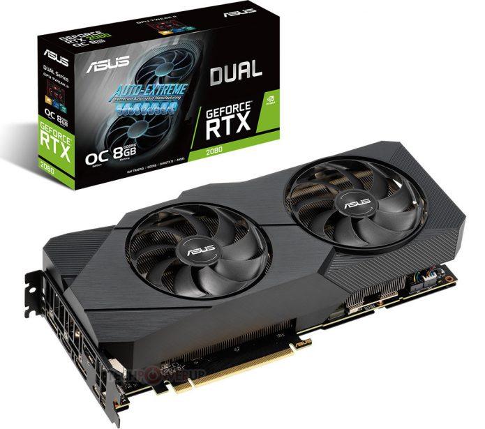 Asus GeForce RTX 2080 Dual EVO OC