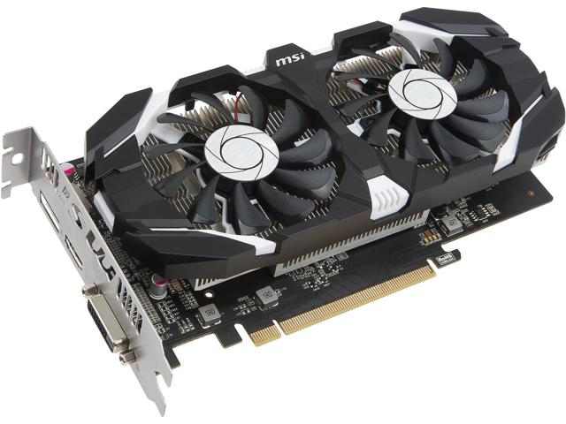 MSI NVIDIA GEFORCE GTX 1050 TI