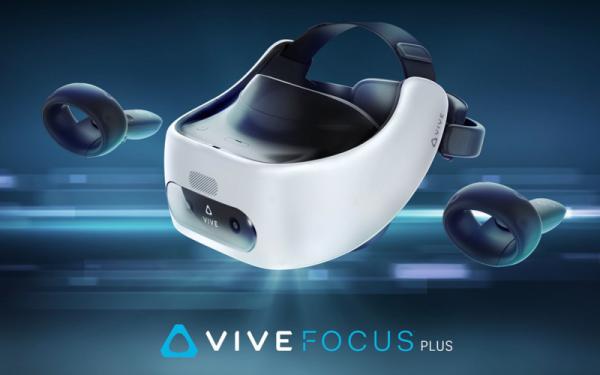 HTC представила автономную VR-гарнитуру Vive Focus Plus