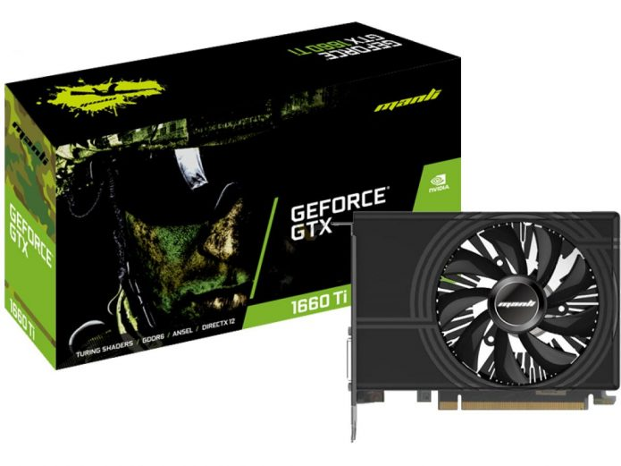 Manli GeForce GTX 1660 Ti Single Fan