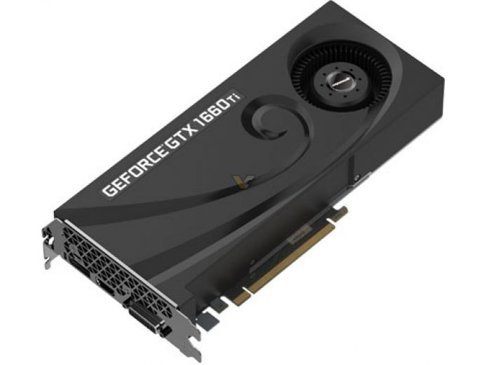 Manli GeForce GTX 1660 Ti Blower Fan