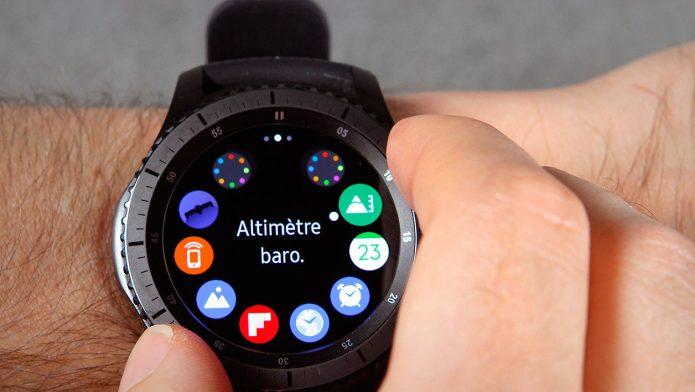 Смарт-часы Samsung Gear S3 Frontie