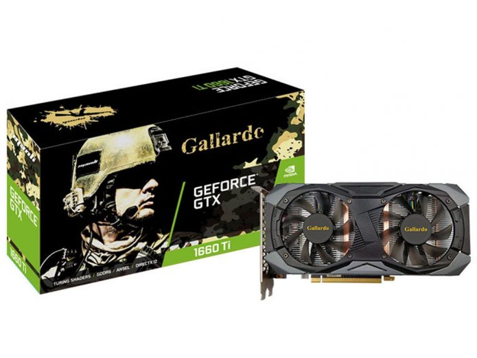 Manli GeForce GTX 1660 Ti Gallardo