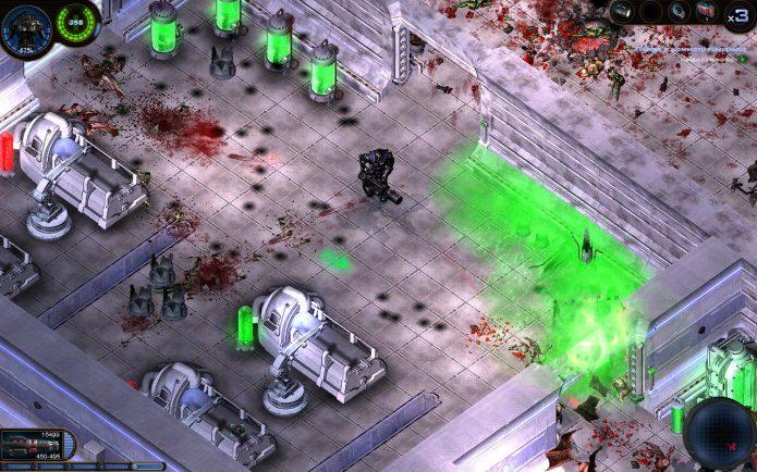 Игра Alien Shooter