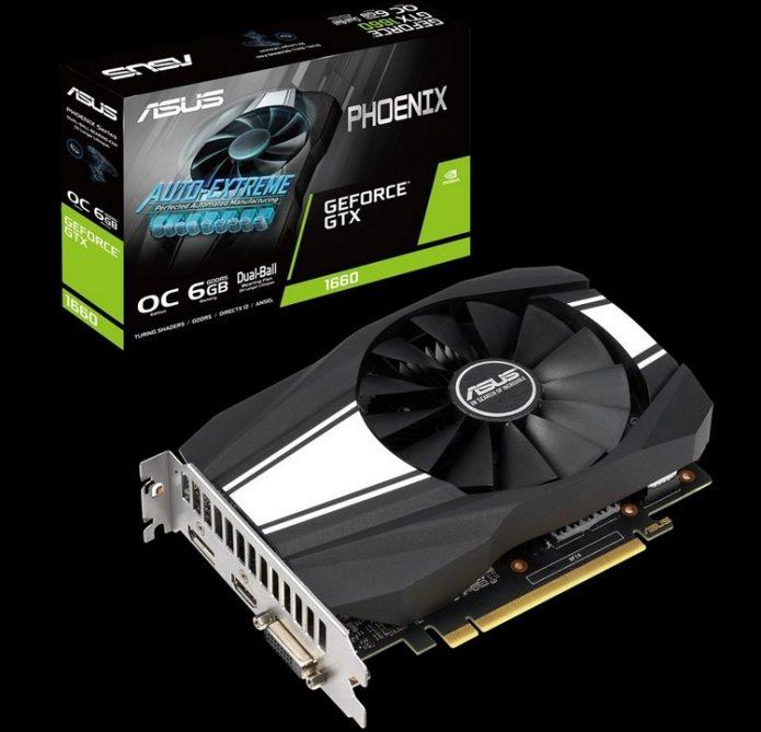 Asus GeForce GTX 1660 Phoenix
