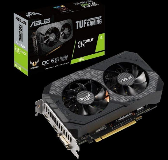 Asus GeForce GTX 1660 TUF