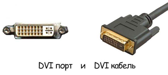 Разъём DVI