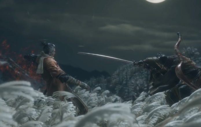 Сражение в Sekiro: Shadows Die Twice