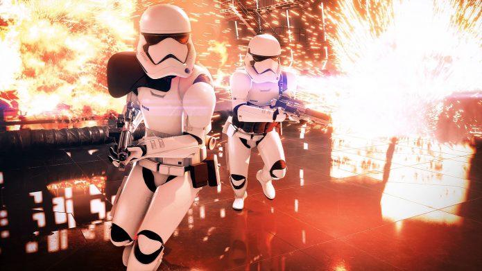 Кадр из игры Star Wars Battlefront II