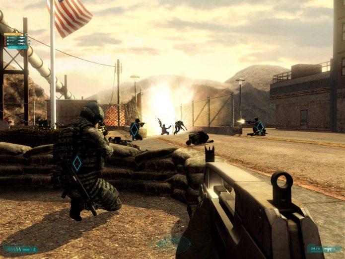 Игра Tom Clancy's Ghost Recon: Advanced Warfighter 2