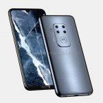 Смартфон Motorola с четверной камерой