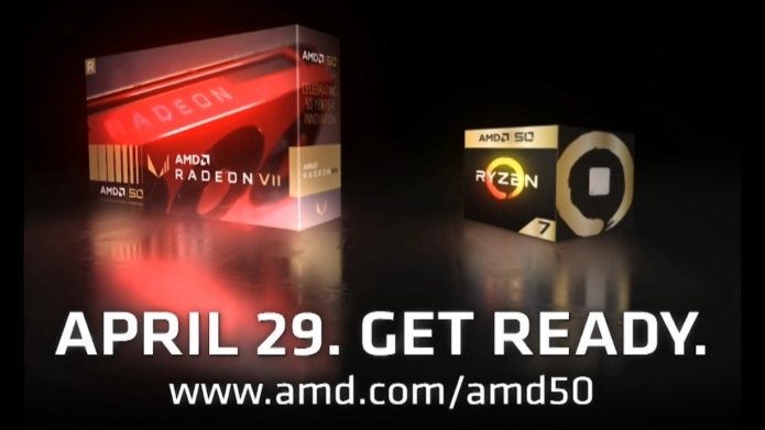 AMD Radeon VII и Ryzen 2700X 50th Anniversary Edition