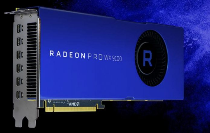 Видеокарта AMD Radeon Pro SSG VEGA ATI PCI-E