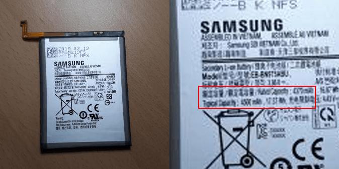 Аккумулятор смартфона Samsung Galaxy Note 10 Pro