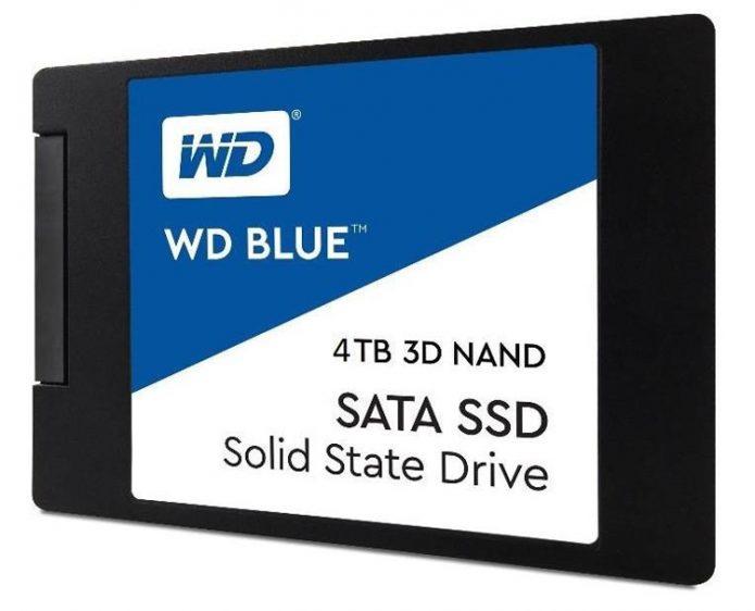 WD Blue ёмкостью 4 ТБ