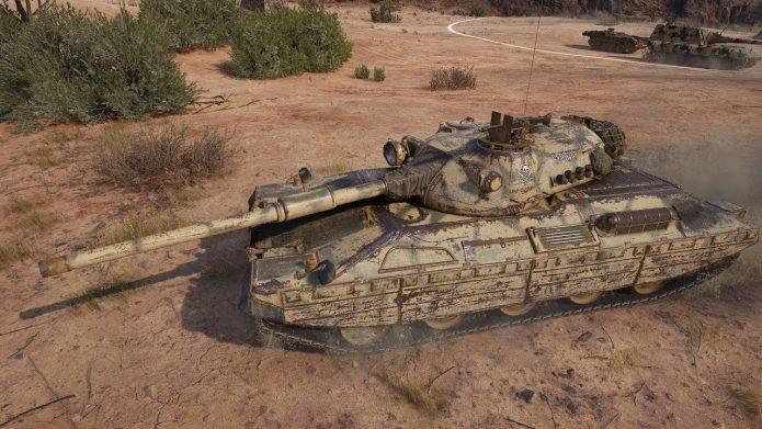 Танк Progetto M40 mod. 65