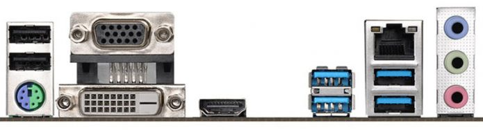 Интерфейсная планка ASRock B365M-HDV